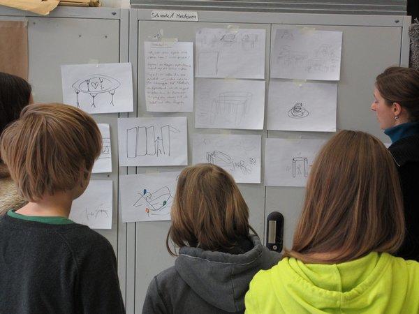 6. das Storyboard wird entwickelt